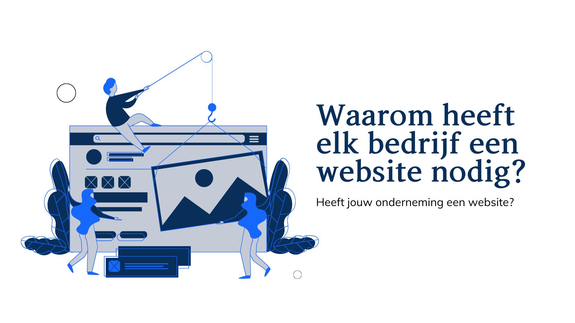 Heeft jouw onderneming een website